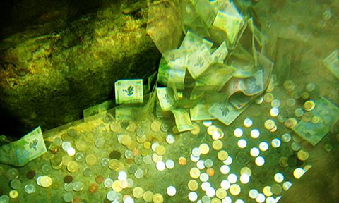 Naringslivet kastar pengarna i sjon